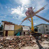 Baustart bei der Rankweiler Mittelschule – Gymnasiksaal weicht neuer Doppelturnhalle