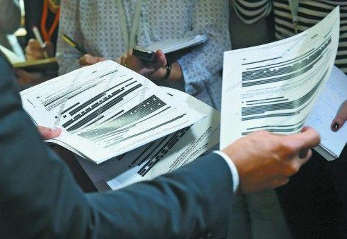 Aktenberge müssen bewältigt werden: Zuletzt haben geschwärzte Dokumente für Aufregung gesorgt. Foto: APA
