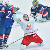 Weißrussland nach Sieg gegen die USA Leader