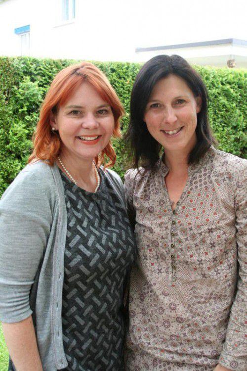 Alice Rist (l.) und ihre Freundin Daniela Walch.  Foto: VN/Sohm