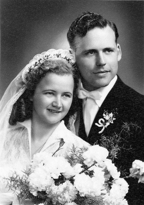 Am 7. Mai 1955 gaben sich Anny und Johann Franz das Jawort.