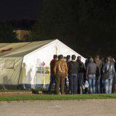 Flüchtlinge in Zelten ist überhaupt nicht okay
