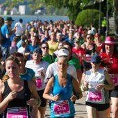 Finaler Endspurt zum Frauenlauf