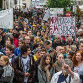 Über 3000 Menschen sagen Nein zu Monsanto