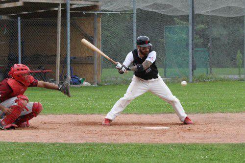 Baseball Bundesliga (BBL) 2014 Hard Bulls - Feldkirch Cardinals in Hard, Simon Peter 18 Hard Bulls