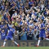 Großer Jubel an der Stamford Bridge