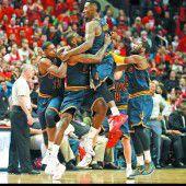 LeBron James sicherte Sieg in letzter Sekunde