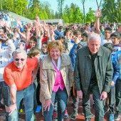 1000 Schüler liefen in Feldkirch gegen die Armut und für die VN-Sozialaktion Ma hilft