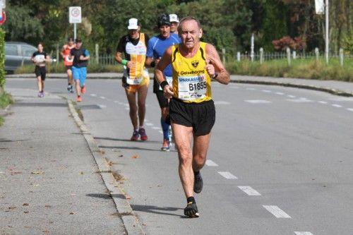 Dabei sein ist oft auch beim Marathon alles.  Foto: Schwämmle
