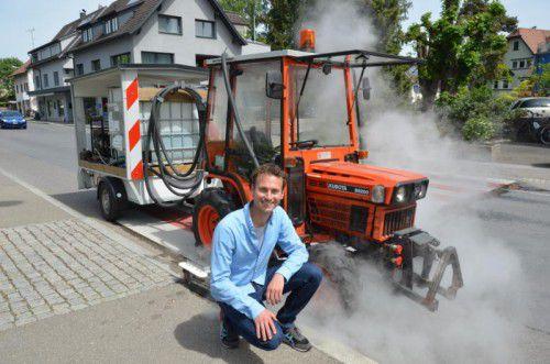 Daniel Zadra, Landwirtschaftssprecher der Grünen, richtet Appell zum Umweltschutz an die Gemeinden.