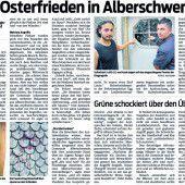 Asylheim in Alberschwende von Polizeiaufgebot umstellt