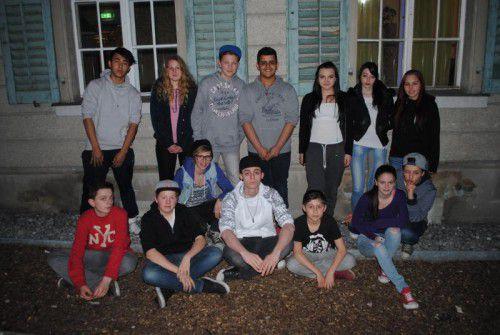 Das Jugendteam unterstützt das Projekt. Foto: OJAF