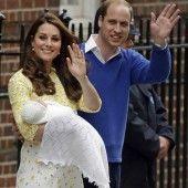 Das ,,Royal Baby heißt Charlotte Elizabeth Diana