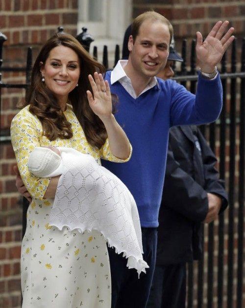 Das Kind wurde am Samstagmorgen um 8.34 Uhr geboren. Foto: AP