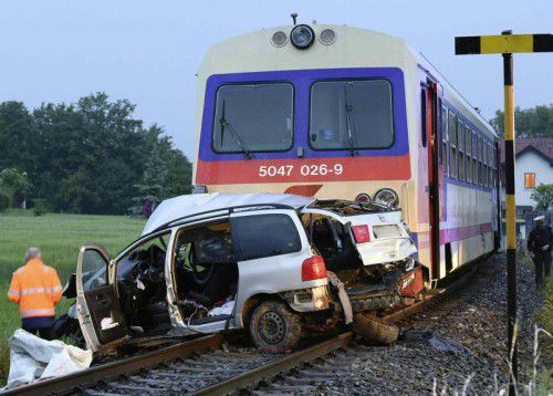 Bei dem Unglück starben fünf Menschen. Foto: Epa