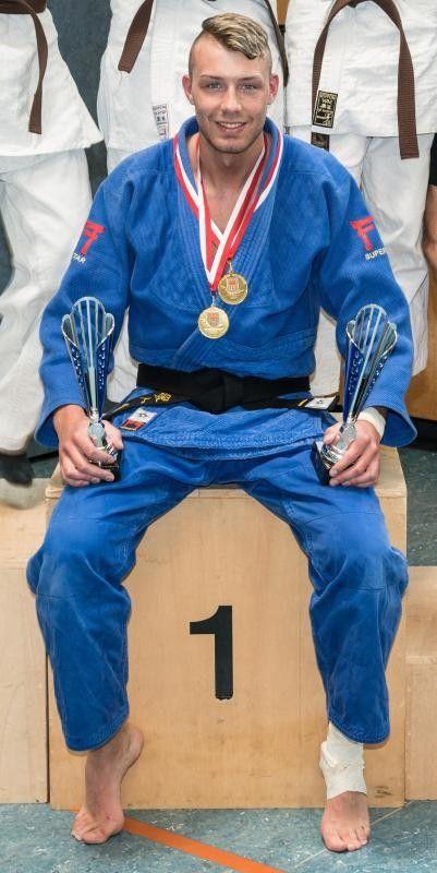 David Böhler holte zwei Gold- und eine Silbermedaille. Foto: Privat
