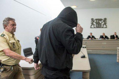 Der 27-Jährige hat bereits zu Beginn des Prozesses seine Schuld am Tod von Franziska gestanden. Foto: EPA