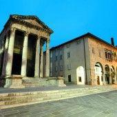 Römische Denkmäler im sehenswerten Pula