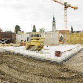 Großbaustelle für neues Pflegeheim