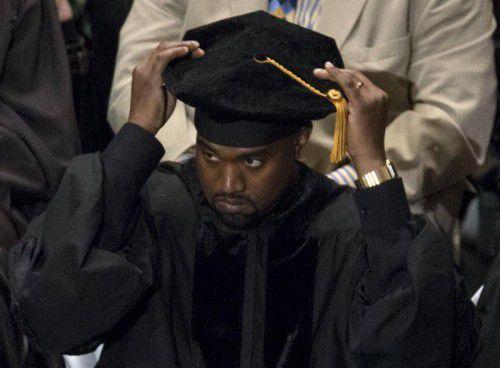 "Der Rapper darf sich ""Dr. Kanye West"" nennen. Foto: reuters"
