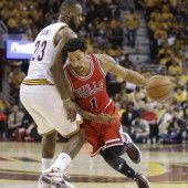 Derrick Rose führte Bulls zu Erfolg in Ohio