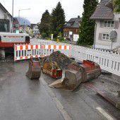 Walgaustraße wird Baustelle