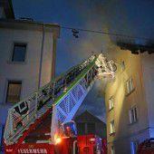 Bregenzer Wohnung in Flammen