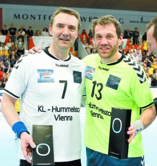 Die Initiatoren: Andy Dittert (l.)und Matthias Günther. Foto: ÖHB