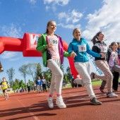 Mehr als 1000 Schüler liefen gegen die Armut