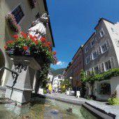 Innenstadt von Bludenz über Umwege barrierefrei