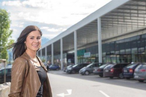 Die Passage22 eröffnet am Mittwoch offiziell. Shoppingbegeisterte wie Nicole aus Feldkirch kommen dort auf ihre Kosten. Foto: VN/Steurer
