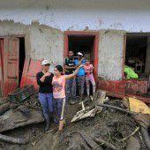 Erdrutsch forderte mehr als 60 Todesopfer