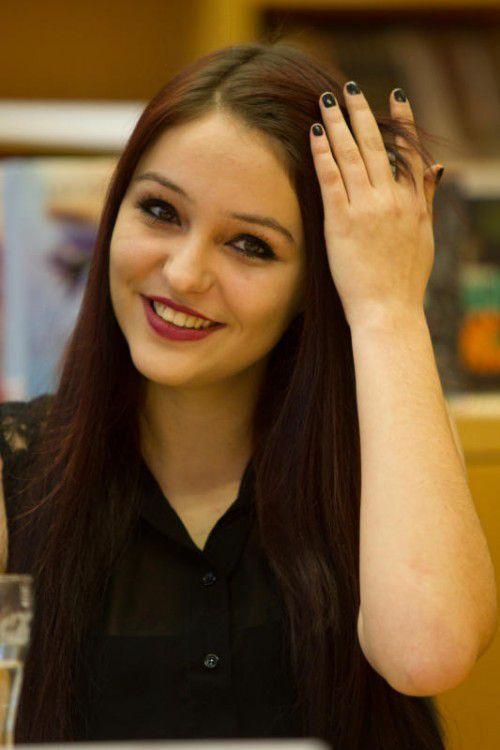 Dijana Milojevic vertritt die Vorarlberger Schülerunion. VN/Hartinger