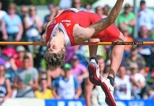 Dominik Siedlaczek erreichte bei seinem Götzis-Debüt 2014 sieben persönliche Bestleistungen und belegte Rang 13. Foto: gepa