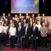 Zumtobel Group feiert 221 Jubilare