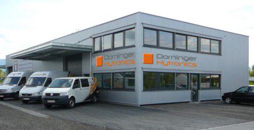 Dorninger statt Anaya: Das Betriebsgebäude mit 650-m2-Halle und Büro am Standort in Röthis. Foto: Dorninger