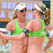 Platz vier für Volleyballduo in der Schweiz