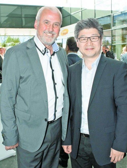 Eberhard Stimpel und Peirong Chen (Manga).