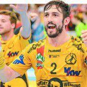 Bregenzer Handballer ziehen mit 29:24-Heimsieg ins Finale ein