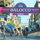 Ein Punktsieg von Contador