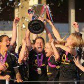 Frankfurts Frauen wieder die Champions