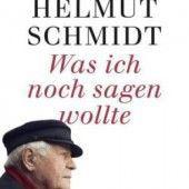 Deutscher Altkanzler hat etwas zu sagen