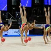 Perfektes EM-Debüt der Gymnastinnen