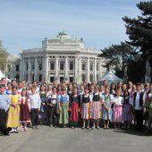 Vorarlberger Landeskinderchor unter der Leitung von Birgit Giselbrecht-Plankel überzeugte in Wien
