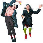 I Baccalá Clown – Clowntheater aus der Schweiz und Italien gibts am Samstag beim Seelax-Festival. 20.30 Uhr.