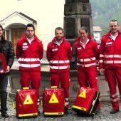 First-Responder-Team heuert in Schnepfau an