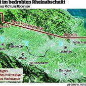 Schutz vor gefährlichem Rhein