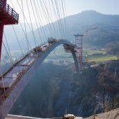 Größte Bogenbrücke der Schweiz
