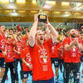 Der alte und neue Handballmeister heißt Alpla HC Hard
