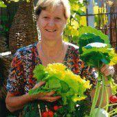 Belohnung für tüchtige Gärtnerin